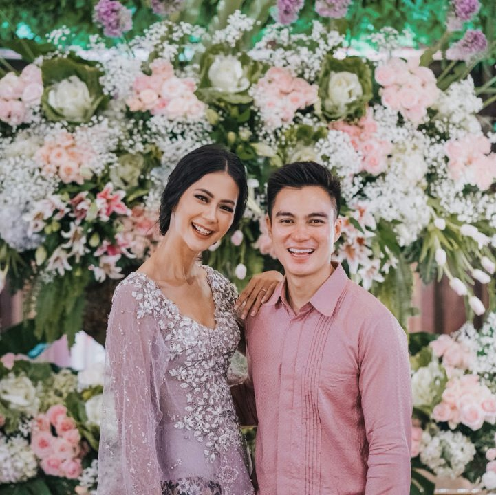 Paula Verhoeven and Baim Wong's Engagement
